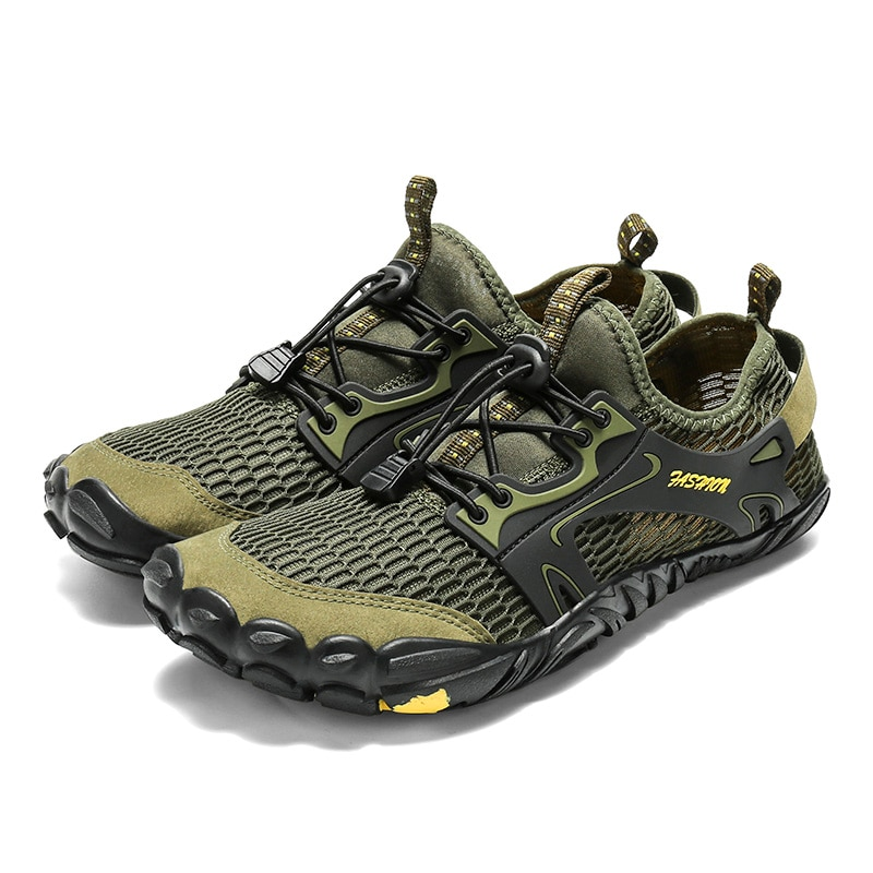 Barefoot Shoes Women Shockproof Hiking Shoes Elastic Man Sneakers Water Beach Shoes...