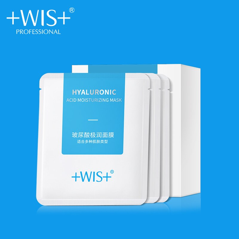 WIS Face Care Sheet mask Moisturizing Oil Control Hydrating Skin Care Hyaluronic Acid Face Mask недорого