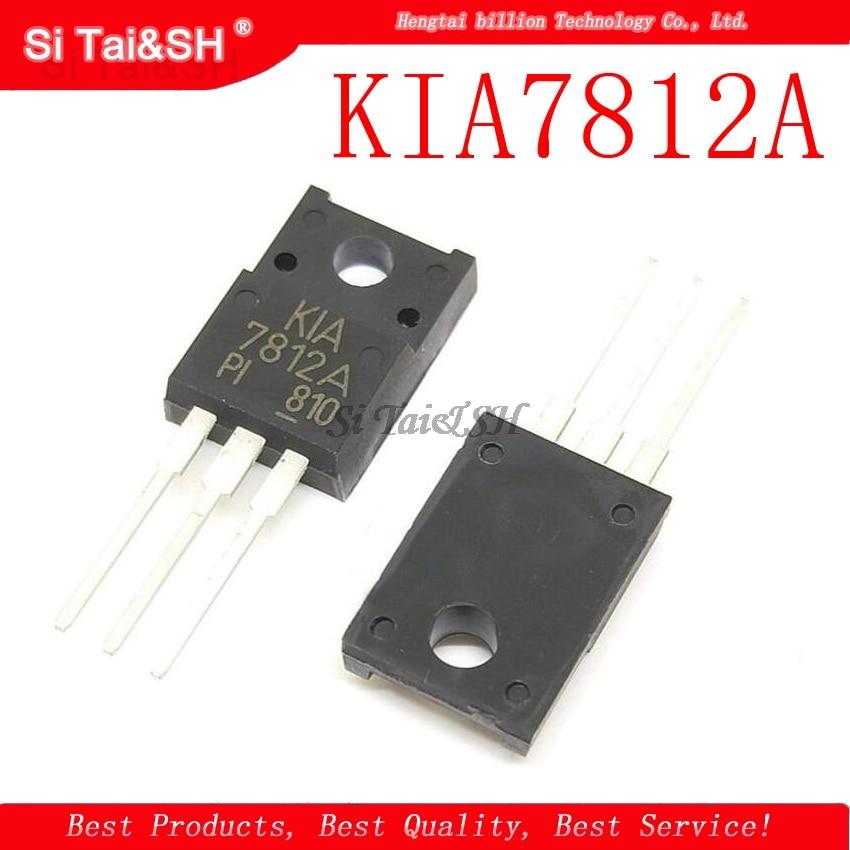 1 pçs/lote KIA7812A KIA7812API 7812 TO-220F original novo