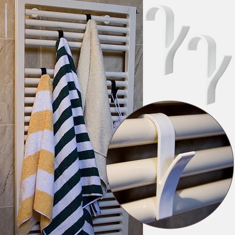 Высококачественная вешалка для полотенец с подогревом, вешалка для полотенец и радиаторов, держатель для банных крючков, вешалка для одежд...