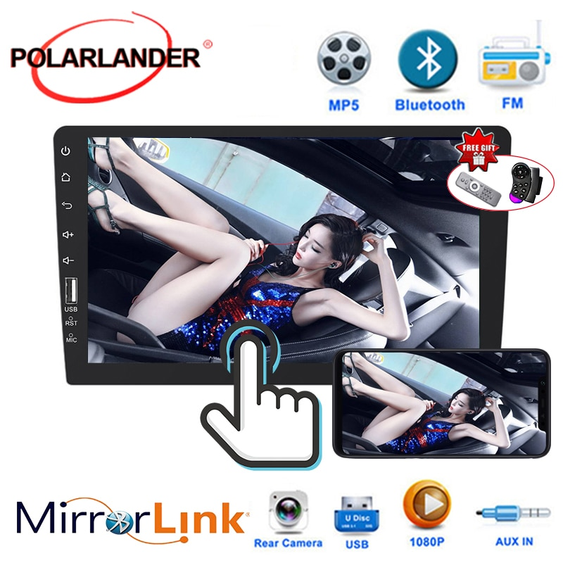 1 DIN 9 inch Car Radio Autoradio Mirror Link Car Stereo Radio Touch Screen MP5 Player Car Multimedia