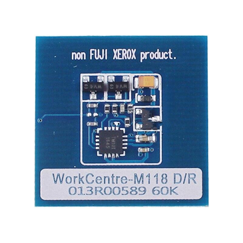006R01179 006R01182 006R01184 013R00589 Toner drum chip for Xerox WorkCentre M118 M123 C128 C133 laser printer toner cartridge