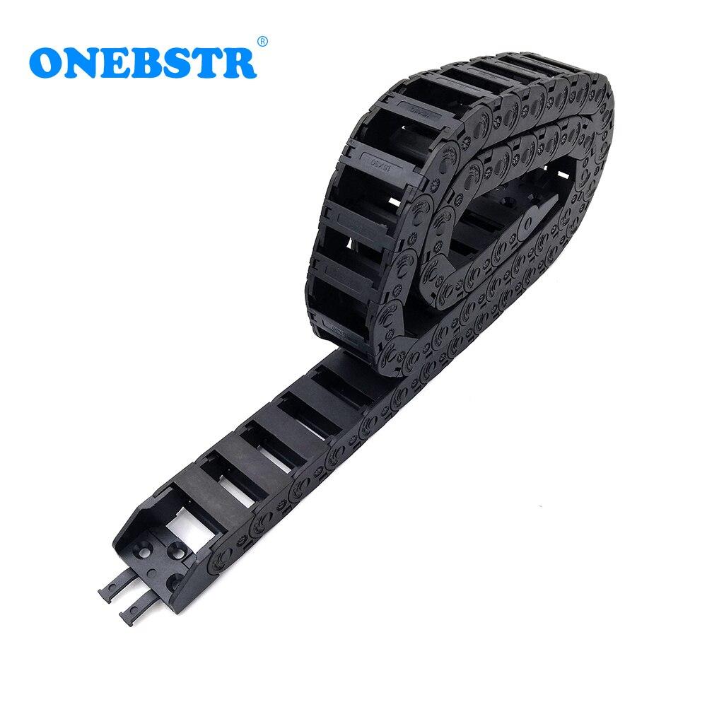1 metro 15x30mm cadena de arrastre Cable portador Cable tipo de puente...