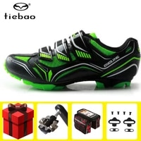 tiebao mtb cycling shoes add spd pedal set men mountain bike breathable non slip bicycle shoes zapatos ciclismo sneakers women