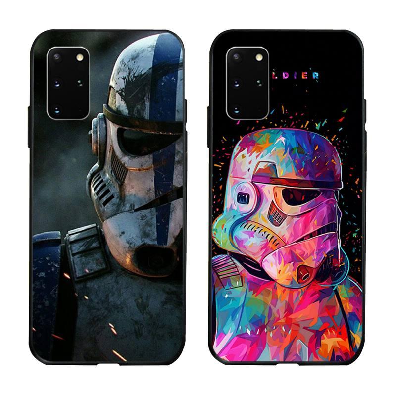 Tipos de Darth Vader, caso de teléfono para Samsung S20 plus Ultra S6 S7 borde S8 S9 más S10 5G lite 2020