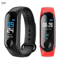 KLW, reloj inteligente Bluetooth, Monitor de ritmo cardíaco y presión arterial, rastreador de actividad física, pulsera inteligente deportiva, teléfono Mate