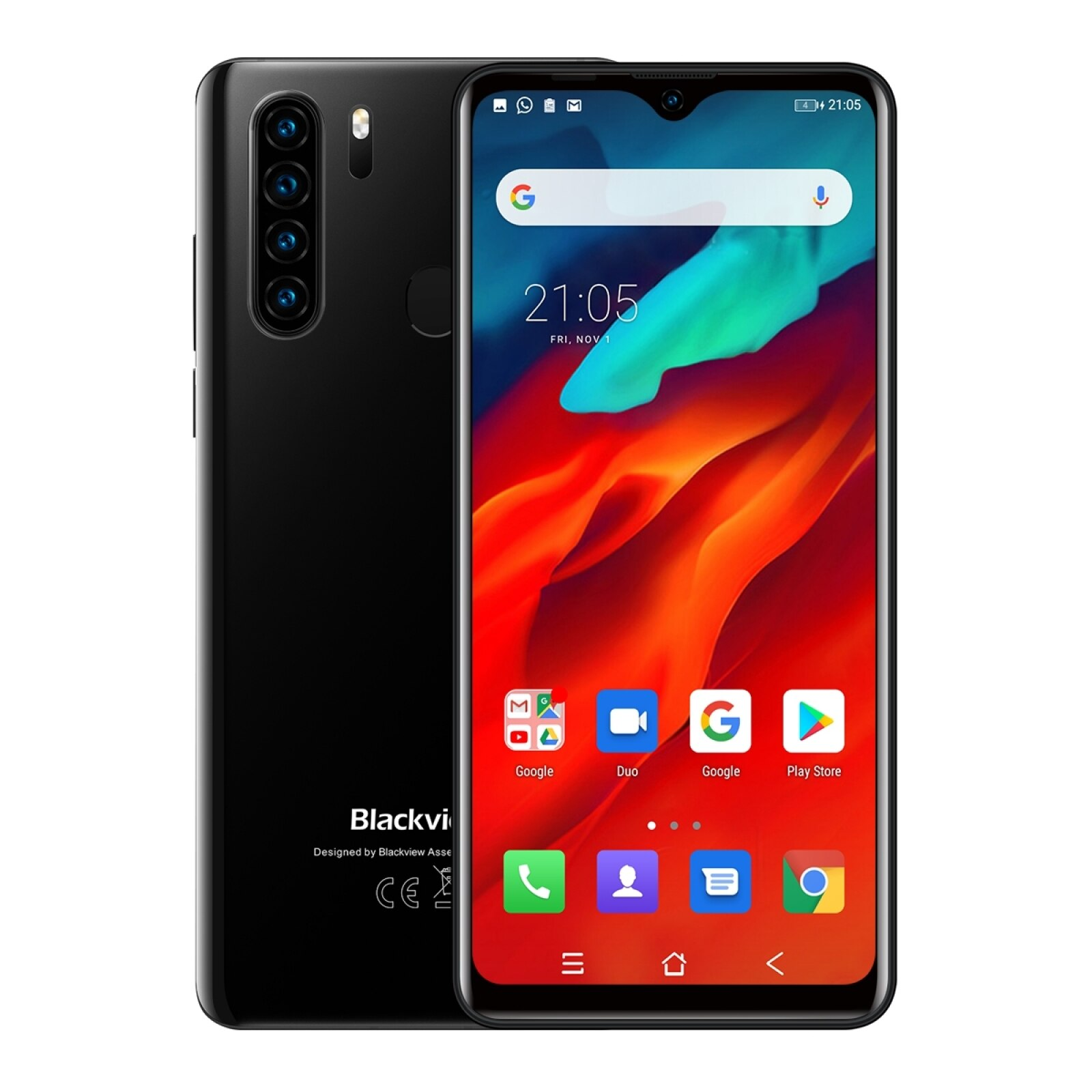 Blackview A80 Plus смартфон с восьмиядерным процессором, ОЗУ 4 Гб, ПЗУ 64 ГБ, 13 МП, Android 10