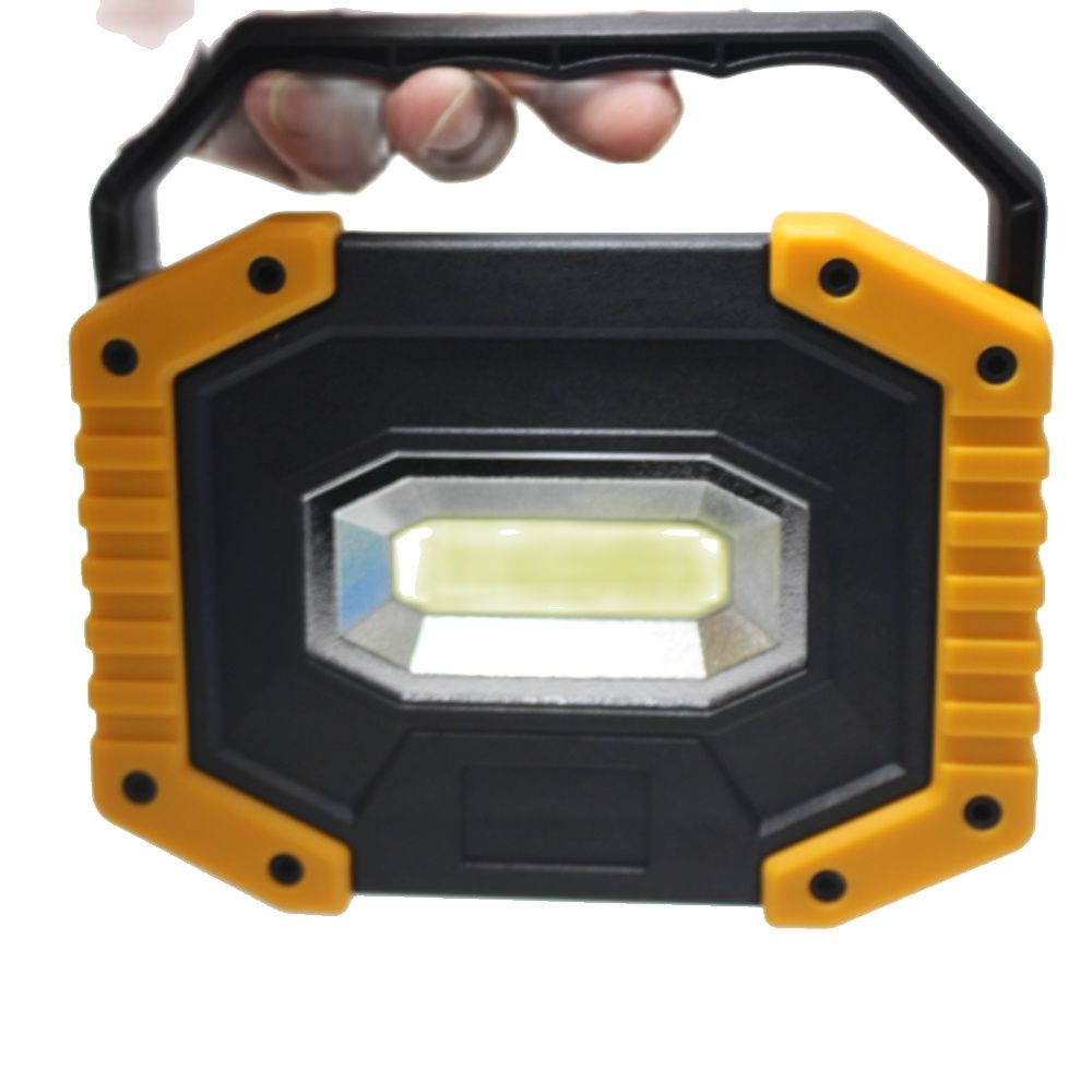 2019 New USB Portable Spotlights 20W LED Projection Lamp Light Outdoor lighting Hunting Camping Emergency searchlight led chargeable light outdoor plaza stadium mobile emergencyportable searchlight with sos waring lighting
