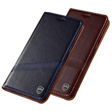 Cowhide Skin Genuine Leather Flip Holster For Meizu 17 Pro Phone Case Magnetic Cover For Meizu 17 Flip Phone Bag Coque Funda