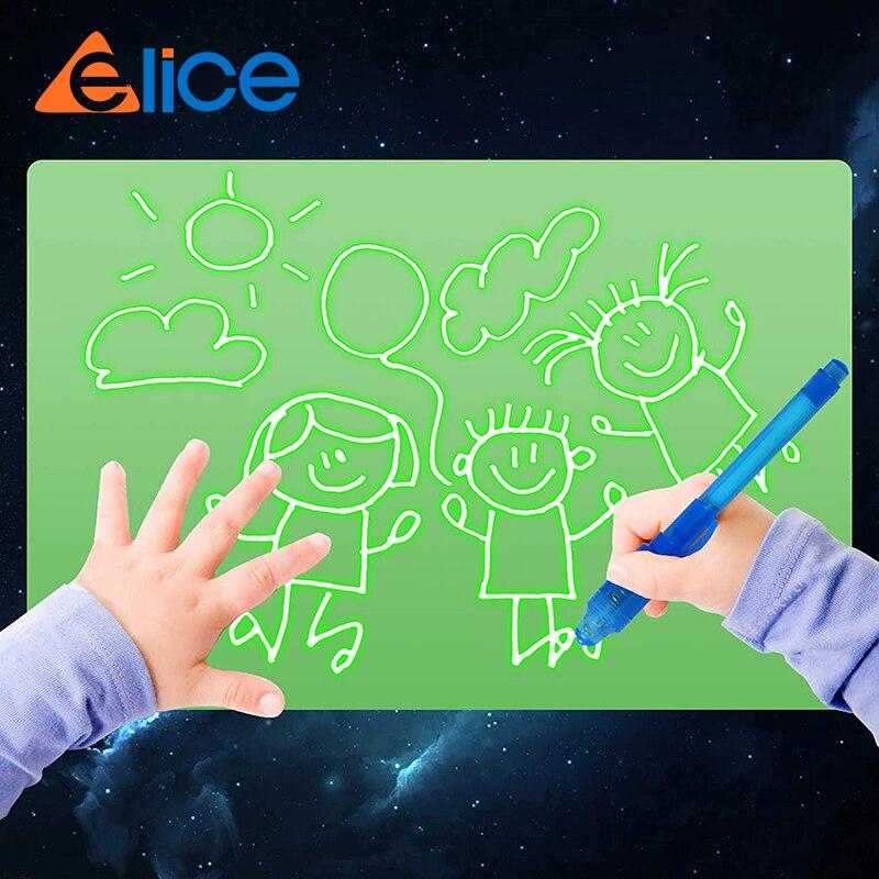 Fun Drawing Pad Board Glow in Dark with Light drawing board for Kids  luminous drawing board Educational Toy Painting Board