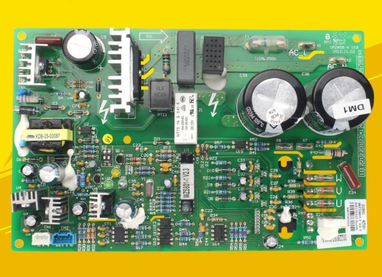 Placa base WZS801 de la placa madre del motor exterior del aire acondicionado central a estrenar Original 30228002