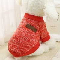 dog clothes for small dog jacket coat cat sweater clothing for pet cats warm cloth autumn and winter sweater to keep pet supplie