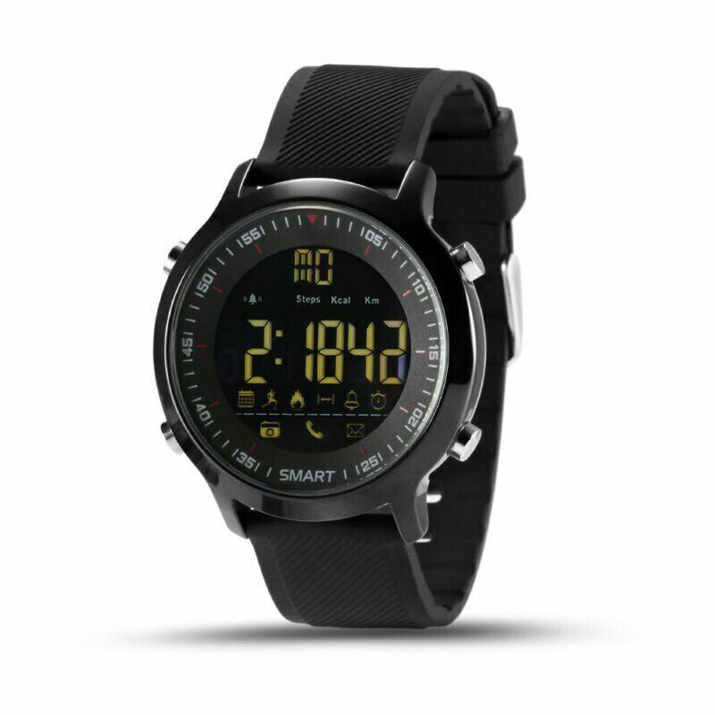 Relógio inteligente ex18 esporte pedômetros à prova dwaterproof água lembrete mensagem bluetooth natação ao ar livre masculino smartwatch para ios android xiaomi