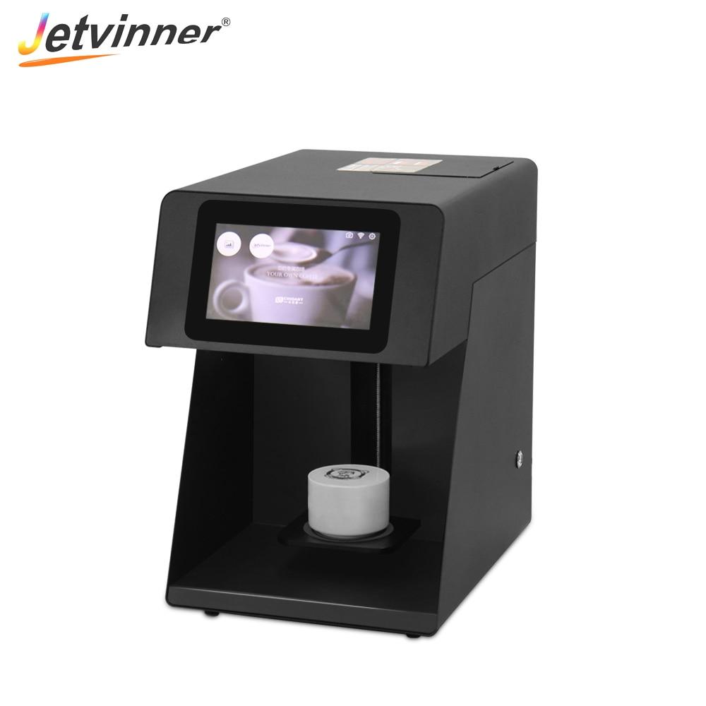 Jetvinner Selfie Coffee Printer Food Print Machine For Coffee, Cake, Bread, Beer, Chocolate, Jelly, Macaron