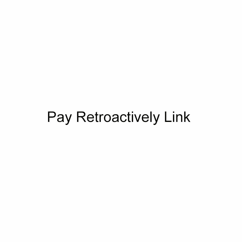 Zahlen Retroactively Link