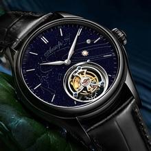 Tourbillon Watch 100m Waterproof Watch For Men Sapphire Waterproof Top Brand Luxury Casual Fashion S
