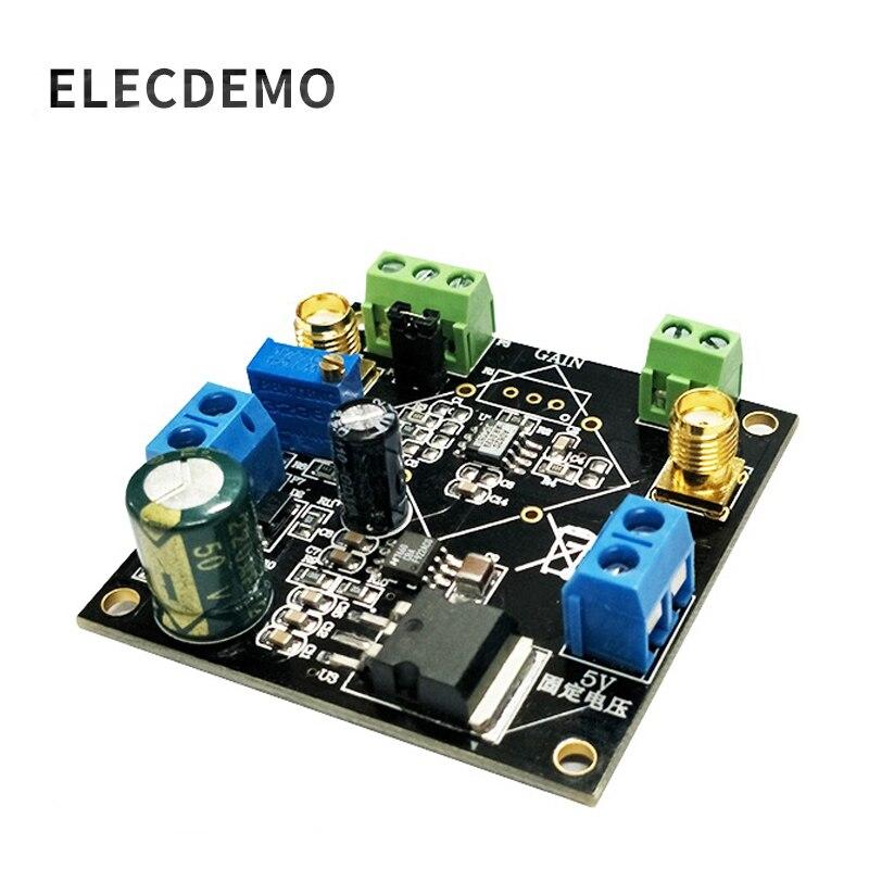 AD620 усилитель напряжения AD620 модуль дифференциальный усилитель одинарный/дифференциальный Малый сигнальный измерительный усилитель