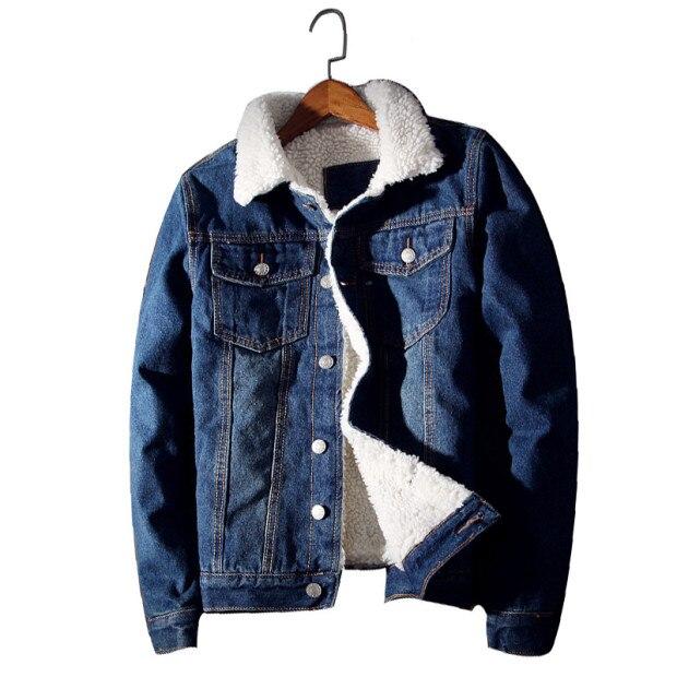 Мужские утепленные зимние джинсовые куртки и модное пальто, теплые мужские джинсовые куртки, верхняя одежда, мужские ковбойские Бриджи 6xl