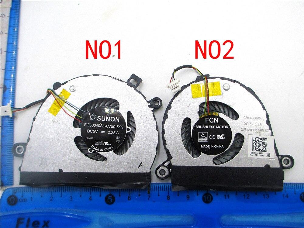 CPU GPU вентилятор для Lenovo YOGA 710-14 710-15 Y710-14 Y710-15 EG50040S1-C820-S99 C750 C760-S99 0FHJC00009 DFS150305140T DC28000HRF0