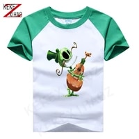boy girl rayman legends t shirt children summer fashion boys short sleeves white tees baby kids cotton tops for girls clothes