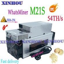 BTC BCH Mineur WhatsMiner M21S 54T Économique Que Antminer S9 S11 S15 S17 S17 Pro T17 S17e T17e WhatsMiner M20S Innosilicon T2T T3