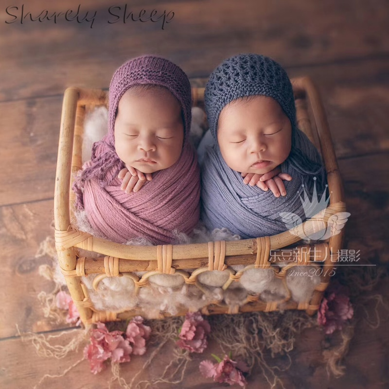 Newborn Photographer Photography Session Props Baby Bed Photoshoot Studio Posing Basket fotografia Accessories fotoshooting Prop