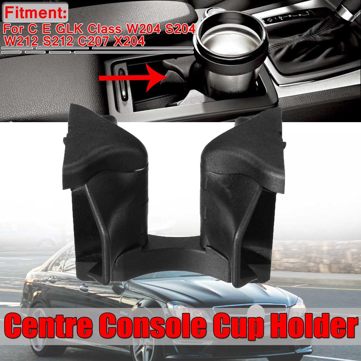 Nueva consola central de coche W204 soporte para copas para Mercedes C E clase W204 S204 W212 S212 C207 GLK clase X204 A2046802391