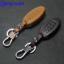 Jingyuqin clés de voiture en cuir   5 boutons pour Nissan Murano 2016-2017 Altima Maxima Infiniti EX FX G37 Q60 QX50 QX70