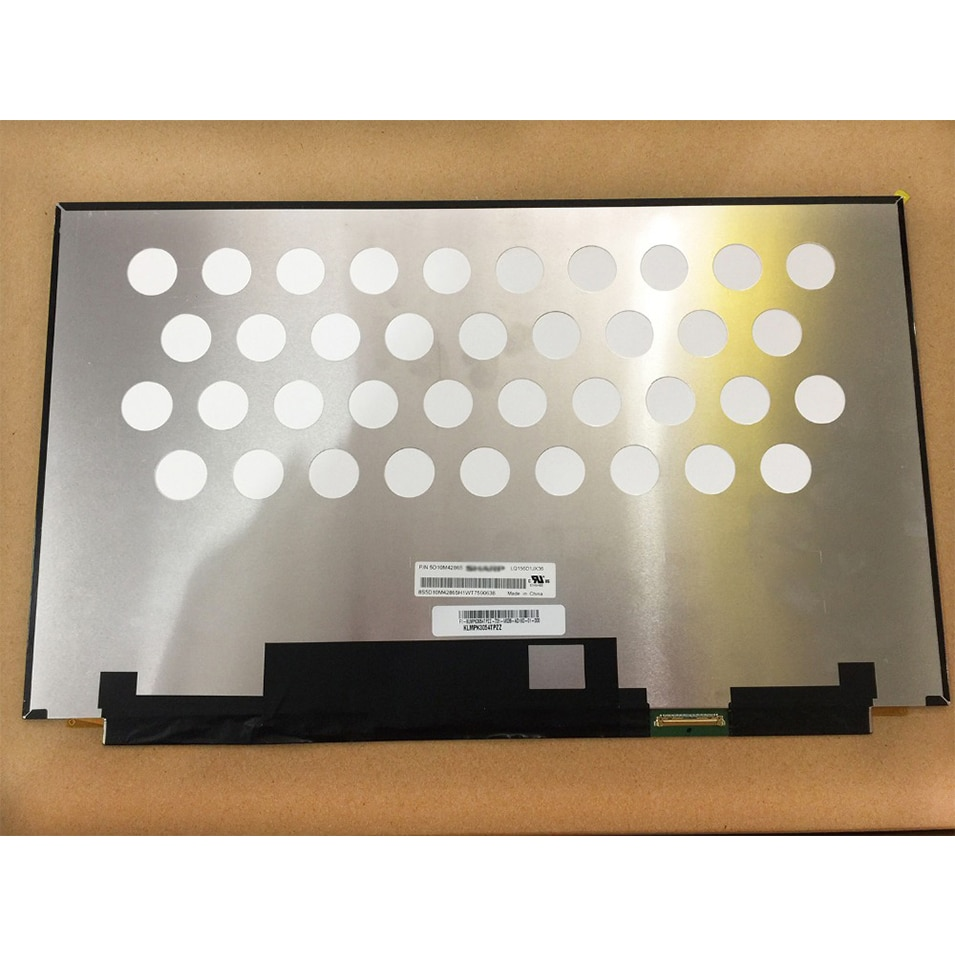 "Nueva pantalla LQ156D1JX36 P/N 5D10M42865 UHD 3840X2160 pantalla para 15,6 ""4K portátil LCD LED 40 pines Panel Matrix"