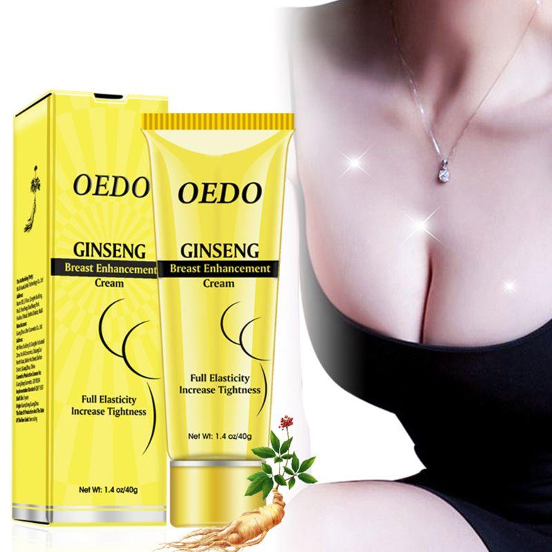 Breast Cream Ginseng Beauty Natural 40g Enlargement Enhancer Women Lady Chest Massage Essential Crea
