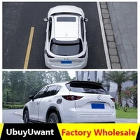 ubuyuwant for mazda cx 5 cx5 2017 2018 2019 2020 abs exterior rear spoiler tail trunk boot wing decoration car styling