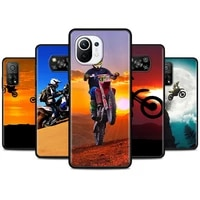 moto cross motorcycle sports silicone case for xiaomi poco x3 nfc x3 pro m3 pro 5g f3 gt x3 gt pocophone f1 soft back cover