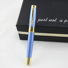 DIKAWEN 8025 metal Luxurious Business Medium Nib Rollerball Pen New office Business school writing pen