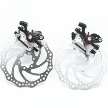 Frein à disque de vélo mécanique Kit de frein à disque avant et arrière pour vélos de montagne vélos pliants
