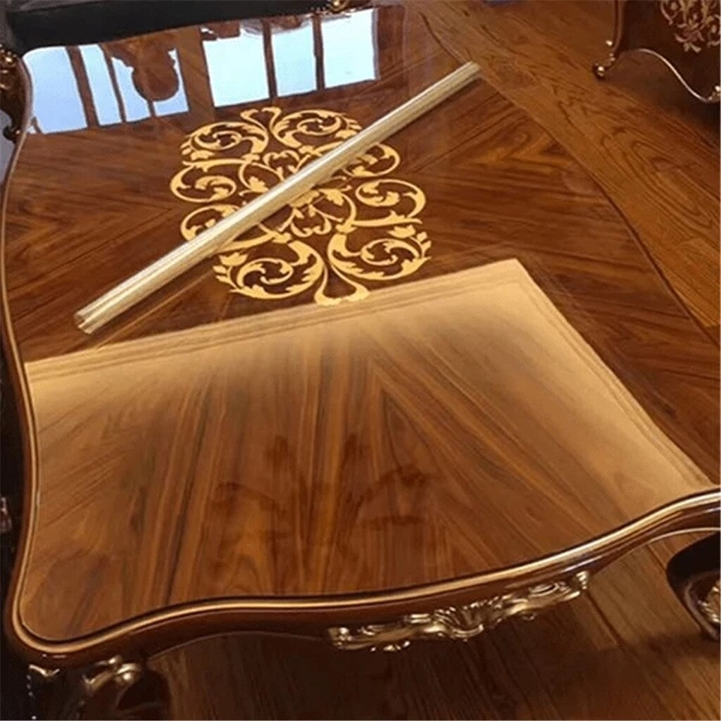 Transparent Waterproof Self-adhesive Film Furniture Marble Solid Wood Desktop Protective Film Baking Table Tabletop stickers