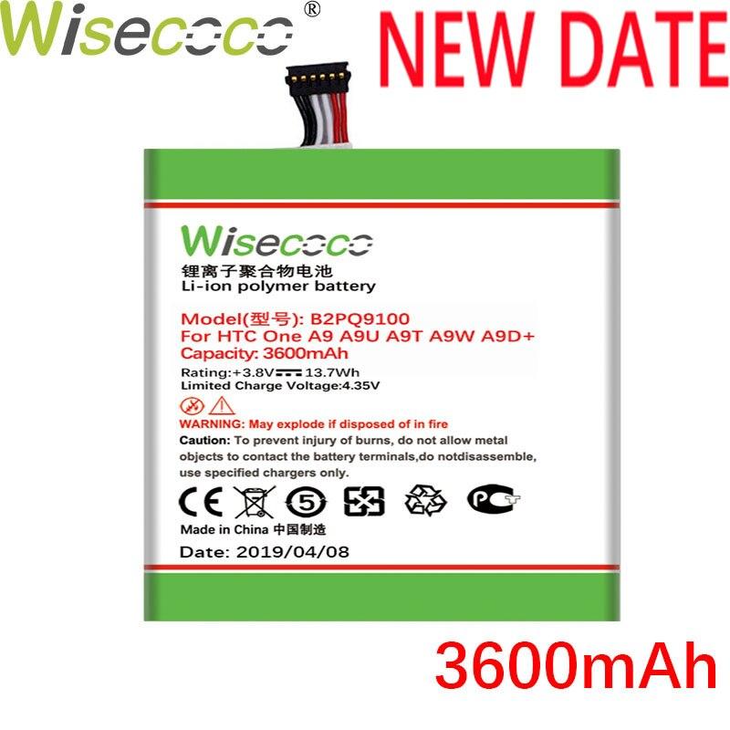WISECOCO 3600mAh Battery batería para teléfono móvil HTC One A9 A9U A9W A9D batería de última producción + número de seguimiento