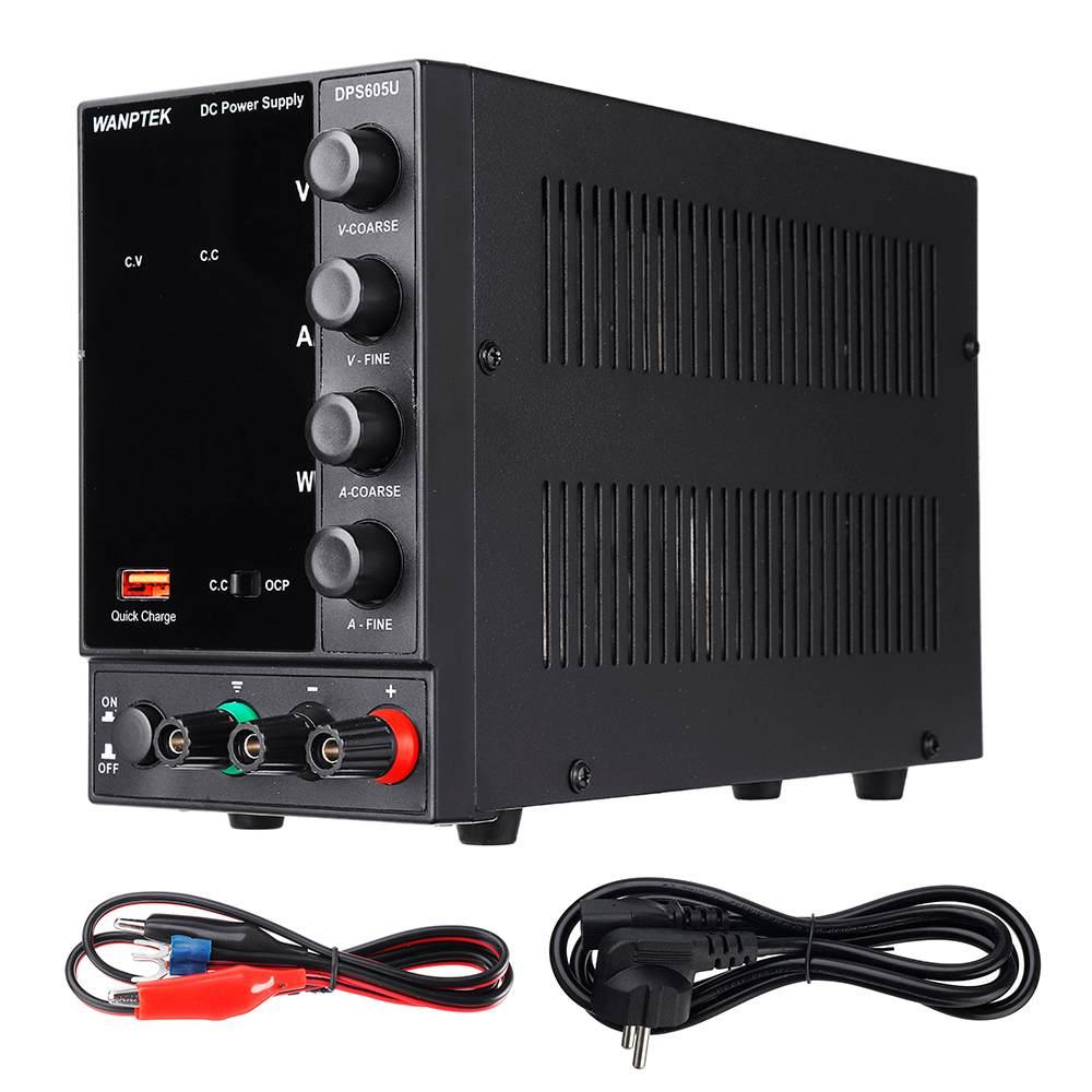 110 فولت/220 فولت 4 أرقام عرض قابل للتعديل تيار مستمر امدادات الطاقة 0-60 فولت 0-5A 300 واط USB شحن سريع مختبر تحويل التيار الكهربائي محول