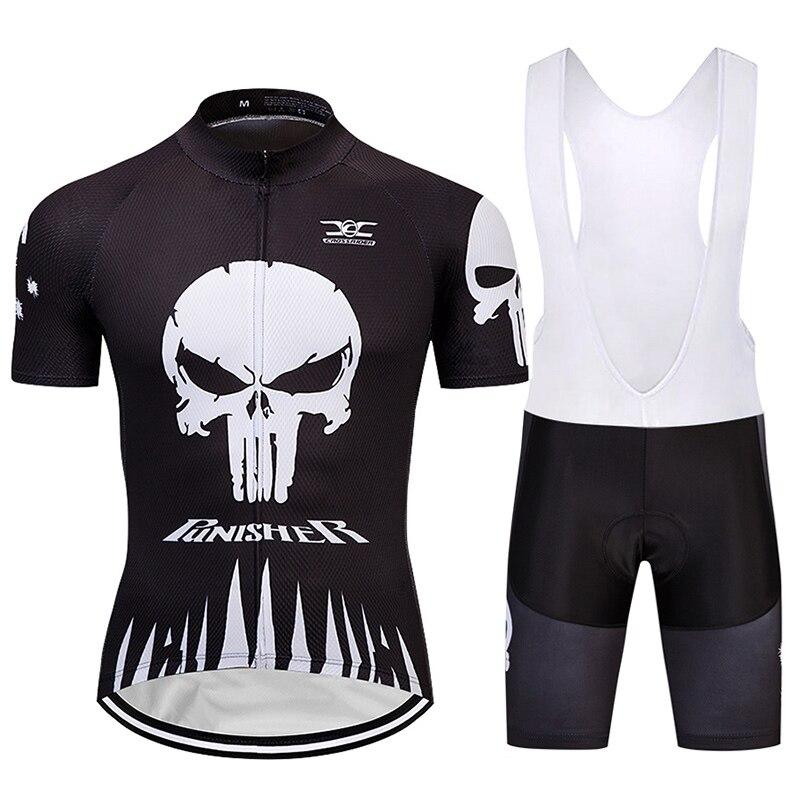 Conjunto de Ropa de Ciclismo para hombre, uniforme de Ciclismo de montaña,...