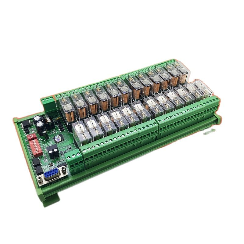 XLO-O-8-32 قناة التتابع RS485 IO تمديد مودبوس RTU التبديلات التتابع المنفذ التسلسلي