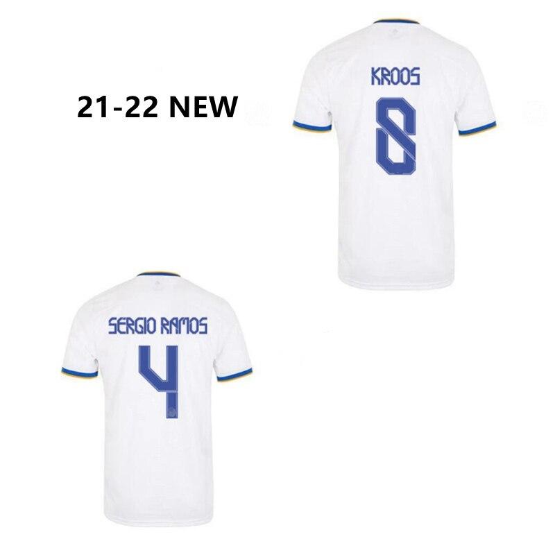 CAMISETA del REAL Madrid para fútbol, MAILLOT DE fútbol, 2021, 2022