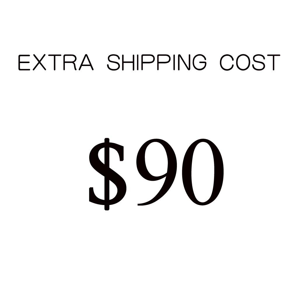 $90 USD Fede أو DHL رسوم تكلفة الشحن الإضافية عن طريق طريقة الشحن الأخرى