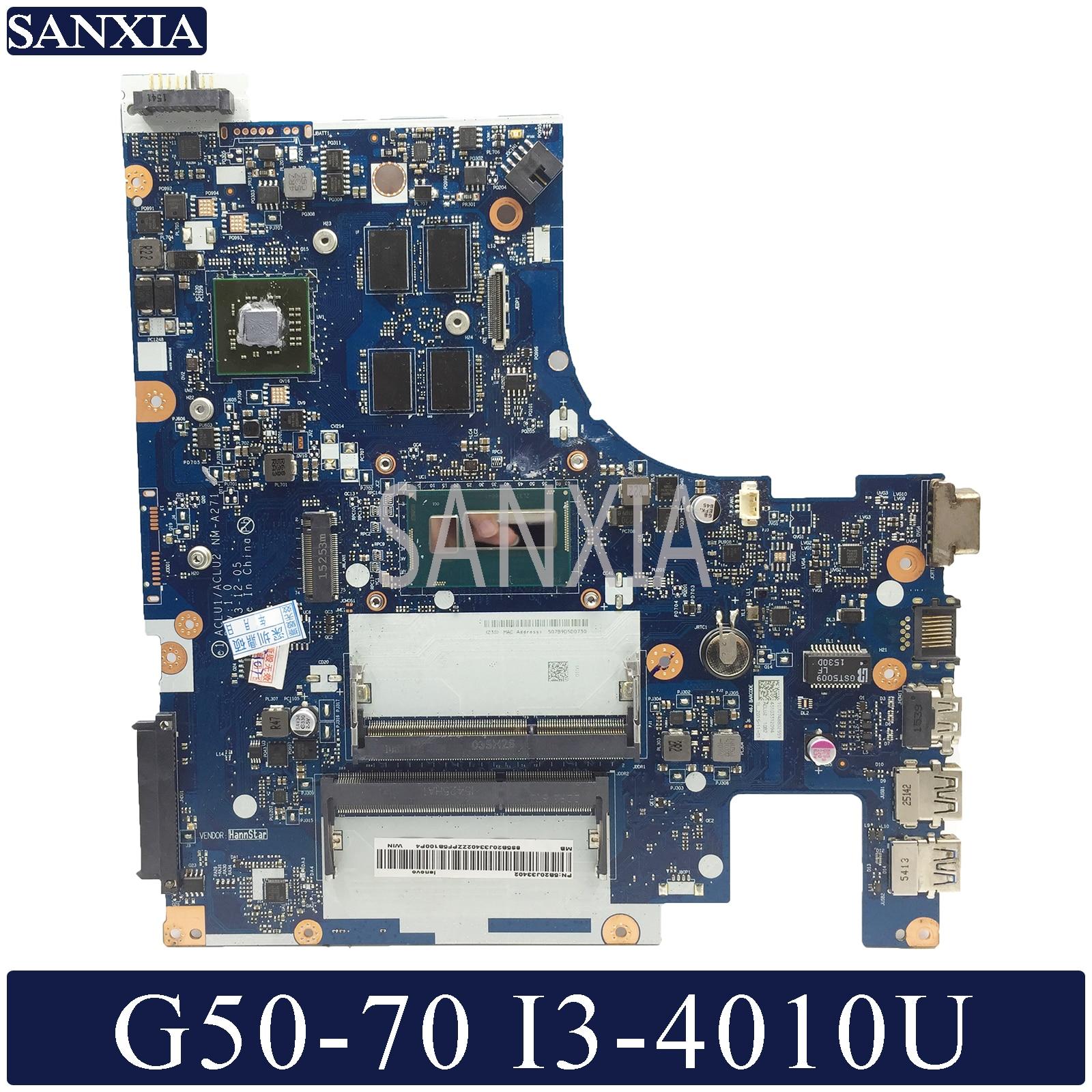KEFU NM-A271 Laptop motherboard für Lenovo G50-70 original mainboard I3-4010U