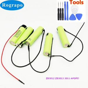 New 18V 2600/3400mAh Battery For Electrolux ZB2904 ZB2941 ZB3012 ZB3013 ZB3011 APOP Vacuum Cleaner Replacement Batterie+tools