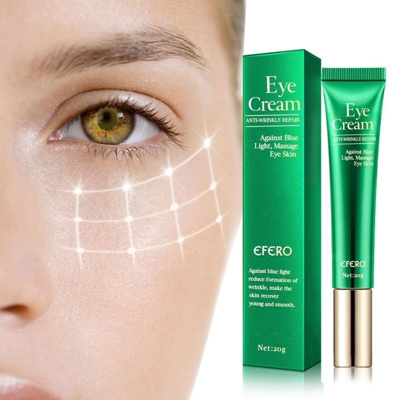 efero eye cream skin care eye essence whitening anti aging anti wrinkle remove dark circles eye creams puffy eyes face cream Anti-Wrinkle Eye Cream Against Blue Light Remove Dark Circles Lightening Eye Cream for Eyes Care Anti-aging Eye Creams