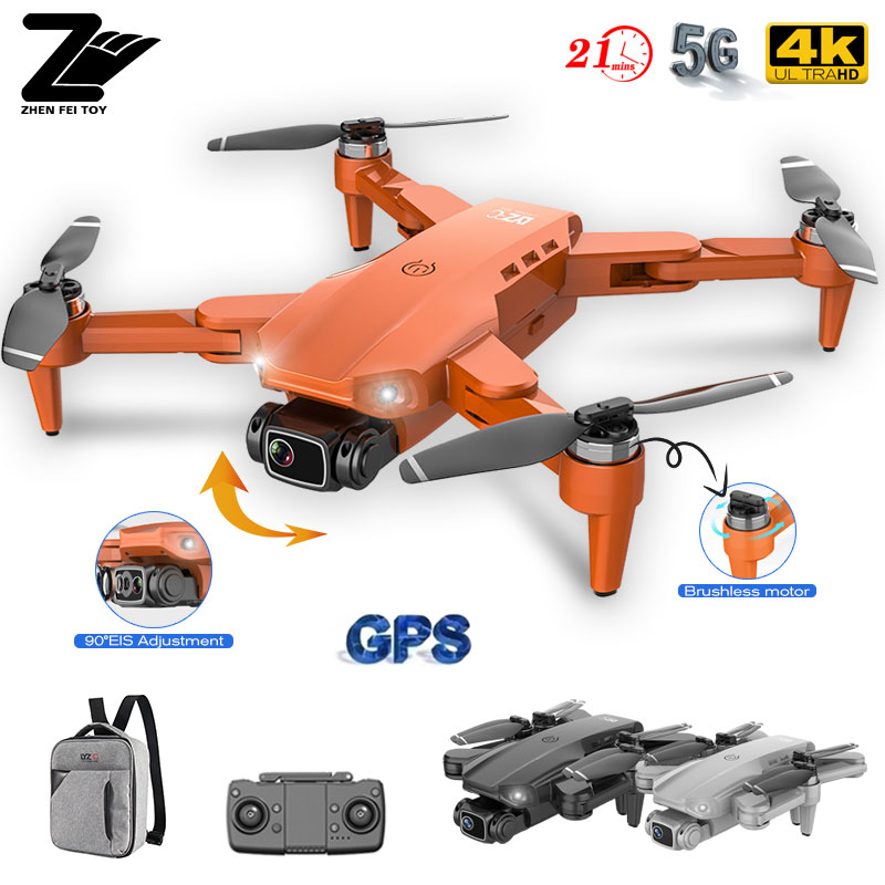 NEW L900 Pro GPS 5G WIFI FPV Drone 4K HD Professional Dual Camera Real-time Transmission Brushless Motor RC Distance 1.2km Dron