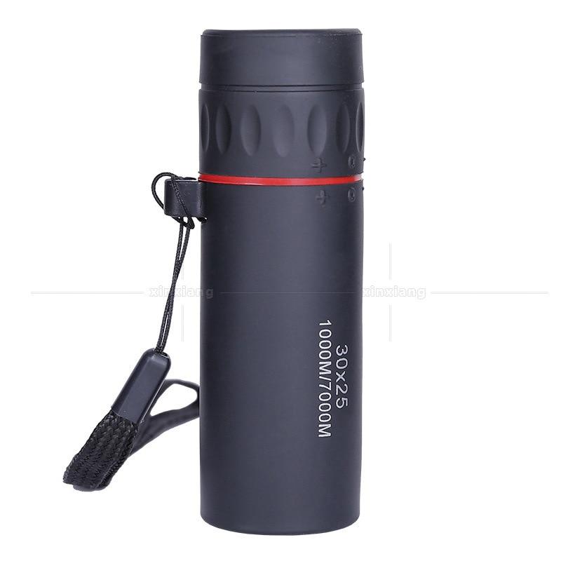 30x25 Monocular Telescope binoculars Zooming Focus Green Film Binoculo Optical Hunting High Quality Tourism Scope