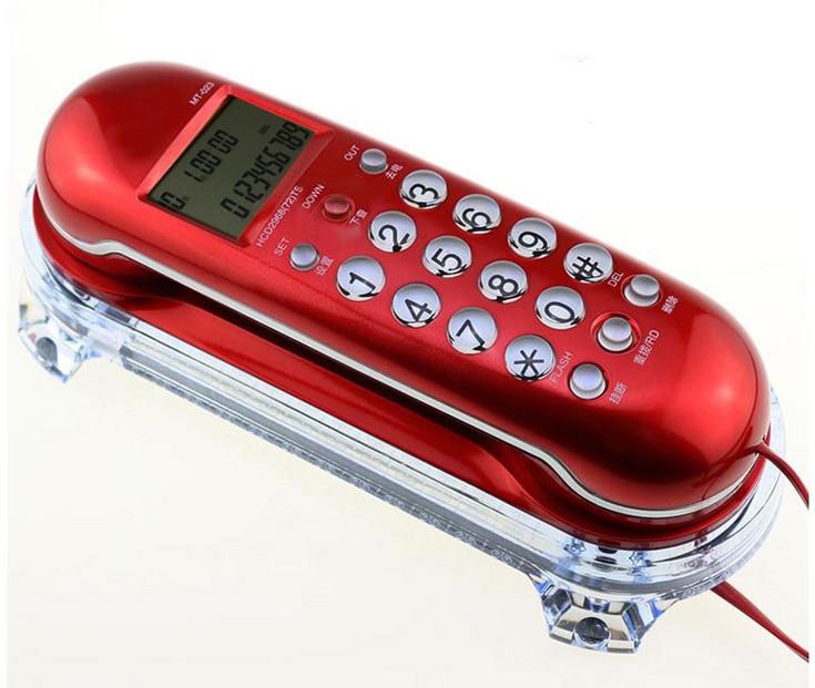 هاتف منزلي محمول عتيق ، هاتف ثابت صغير ، أبيض ، أحمر ، أصفر ، مثبت على الحائط