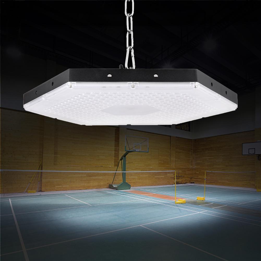 300W Workshop Light IP65 Waterproof Led Honeycomb High Bay Light Industrial Lamp Floodlight UFO Garage Warehouse Stadium Lights enlarge