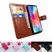 Vsmart Live Case Flip Soft Leather Phone Wallet Cover Stand Function Case for Vsmart Bee Star Joy 2 Plus Credit Card Slots Shell
