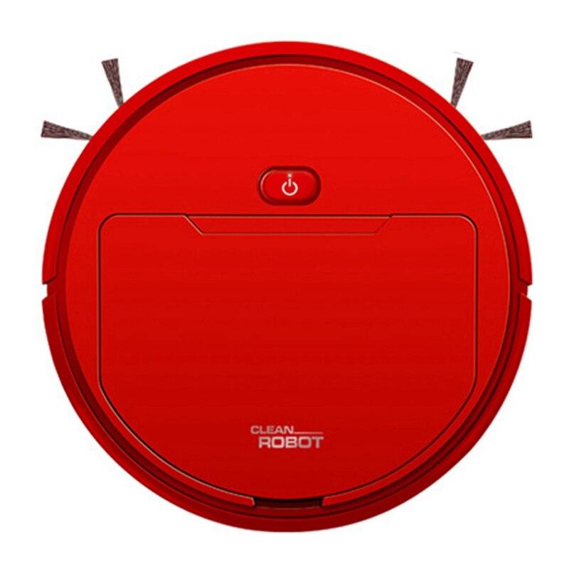 2500Pa Многофункциональный Умный пылесос робот влажная Швабра автоматический 3-In-1Recharge сухой влажный пылесос красный